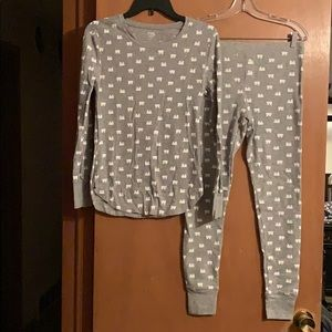 Polar Bear Long underwear set. Both size Medium.